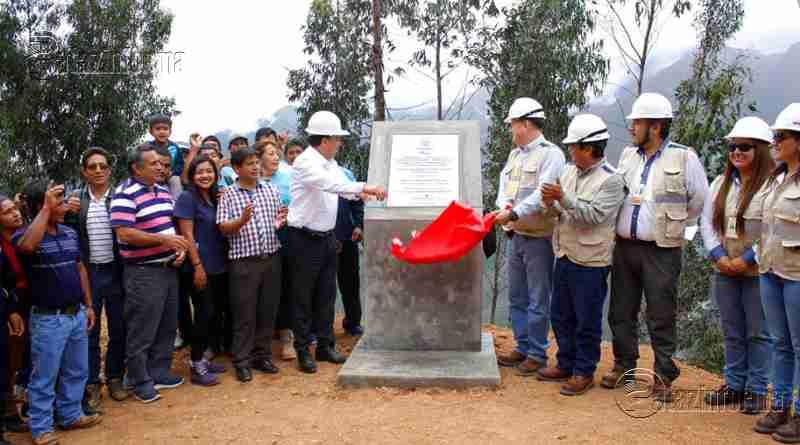 PATAZ | Inauguran nuevo sistema de riego de S/ 10 millones