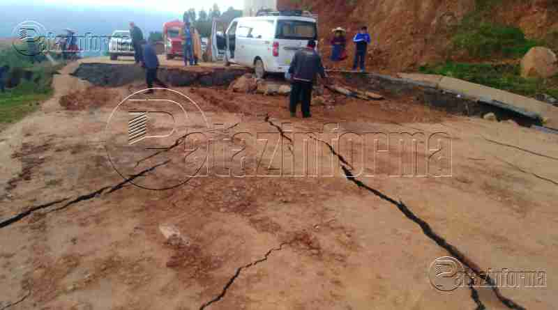 PATAZ | Pase vehicular Huamachuco – Tayabamba interrumpido