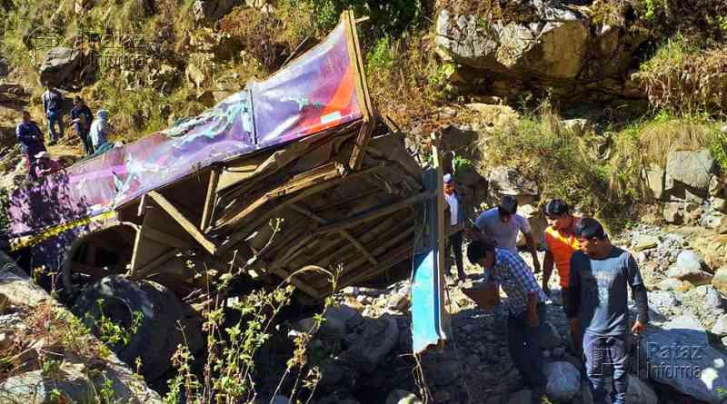 05 fallecidos y más de 20 heridos dejó accidente en Yungay