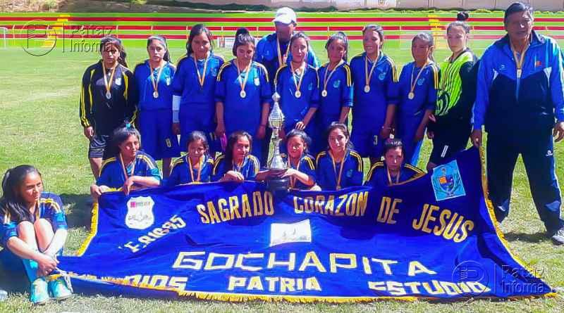 Gochapita campeón provincial de fútbol femenino sub 17