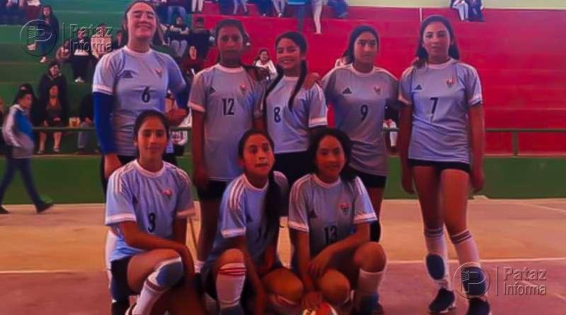 Colegio Ángelo Pagani campeón provincial de vóley sub 14