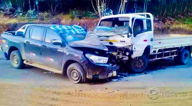 LA LIBERTAD | Choque deja 05 personas heridas en la sierra