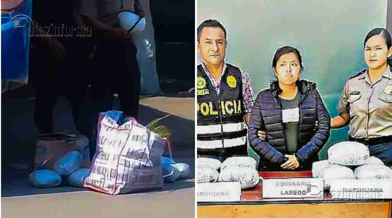 PATAZ | Mujer cae con marihuana que era trasladada a Trujillo