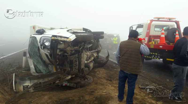 PERÚ | Accidente de tránsito deja a varias personas heridas