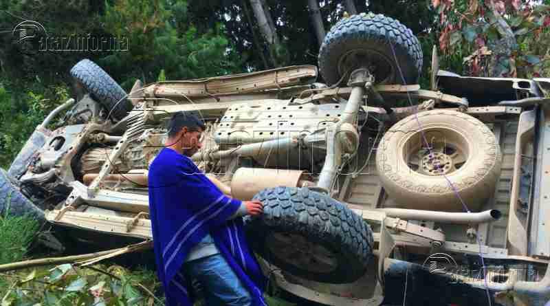 TAYABAMBA | Camioneta que se dirigía a Tocache cayó a abismo