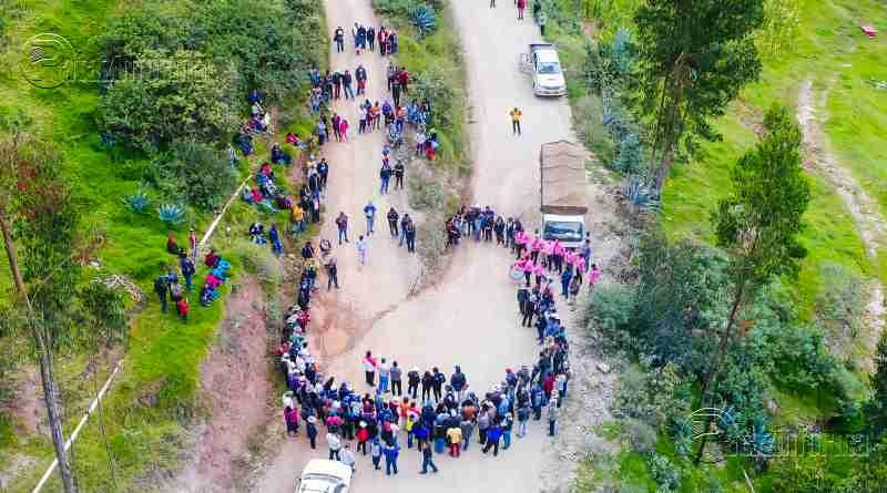 TAYABAMBA | Vía Urpaycito – Huashibamba contará con asfalto