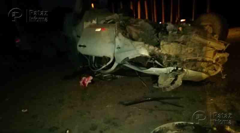 Accidente de tránsito deja heridos a una familia de Parcoy