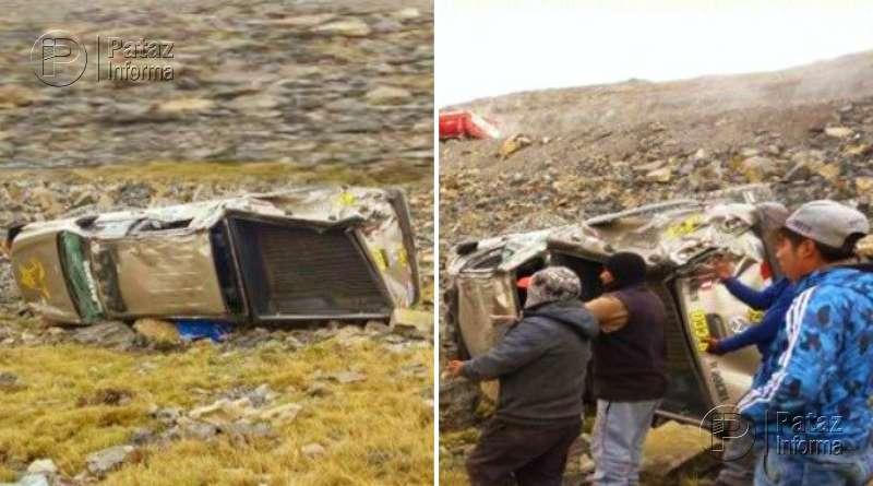 Trágico accidente de tránsito deja un fallecido y dos heridos