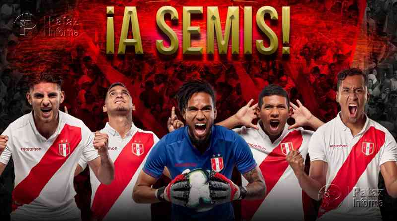 ¡Clásico a la vista! Perú ganó y se enfrentará a Chile en semifinal