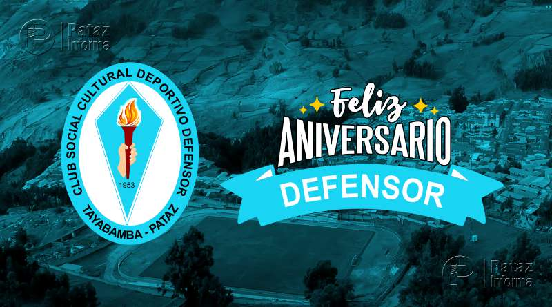 Club Defensor Tayabamba cumple 66 años de vida institucional