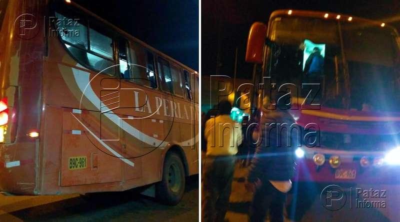 Delincuentes desvalijan a pasajeros de La Perla del Altomayo