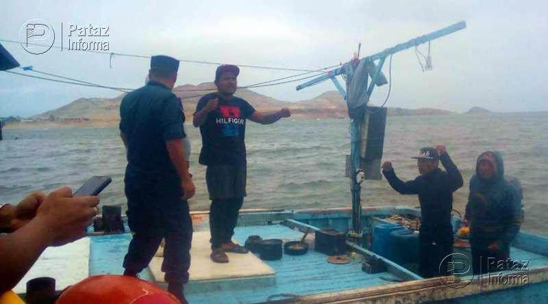 Hallan con vida a pescadores desaparecidos hace más de 30 días
