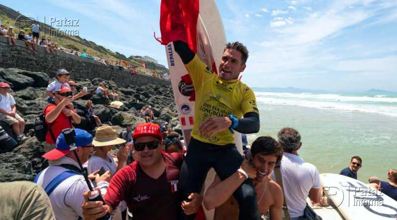 Liberteño se coronó como Campeón Mundial de Longboard
