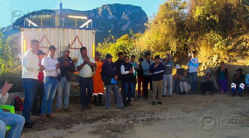 Pobladores de Huaylillas en huelga contra empresa minera