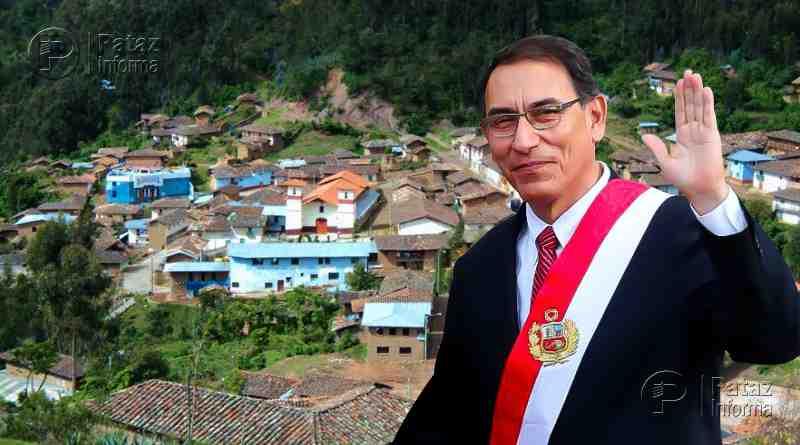 Presidente Martín Vizcarra llega mañana a Santiago de Challas