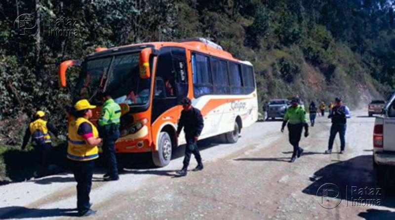 Realizan operativo contra informalidad de transporte en Parcoy