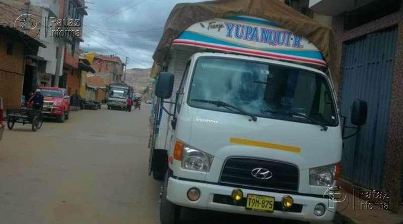 Roban un camión lleno de abarrotes que se dirigía a Pataz