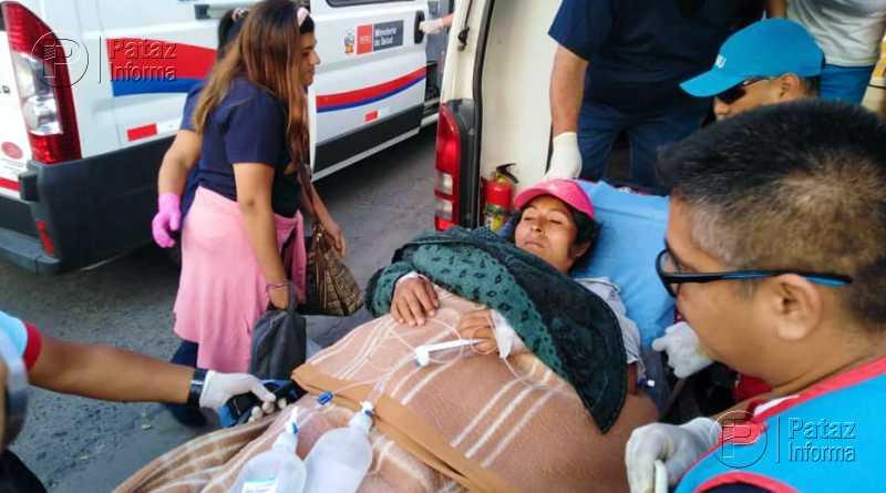 Salvan la vida de mujer embarazada de gemelitas en Pataz