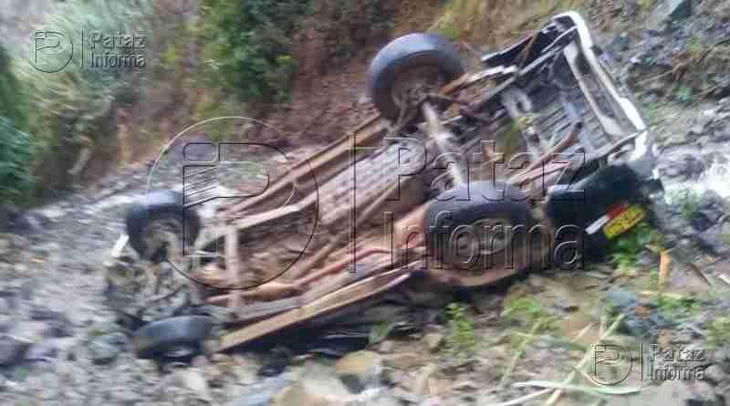Accidente de tránsito deja una persona fallecida en Pataz