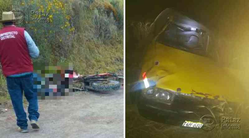 Dos accidentes dejan un muerto y un herido en La Libertad