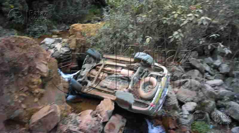 Camioneta cayó a un abismo en la vía Huamachuco – Pataz