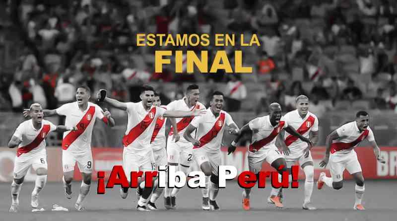¡A la Final! Perú ganó y se enfrentará a Brasil en la gran final