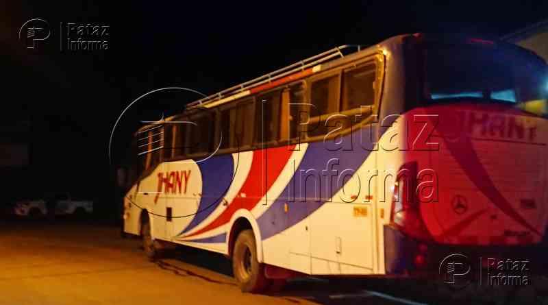 Policía frustra asalto a bus interprovincial de empresa Jhany Tours