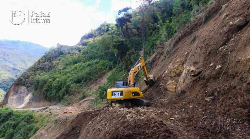 Rehabilitan ruta Tayabamba – Tocache vía puente Marcos