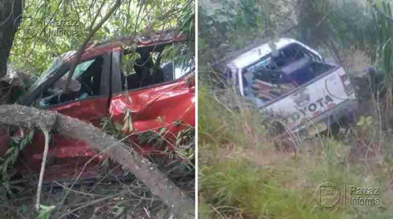 Dos accidentes de tránsito dejan varios heridos en la sierra