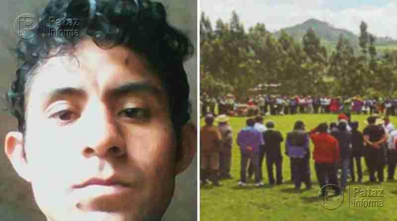 Joven intervenido por ronderos se encuentra desaparecido