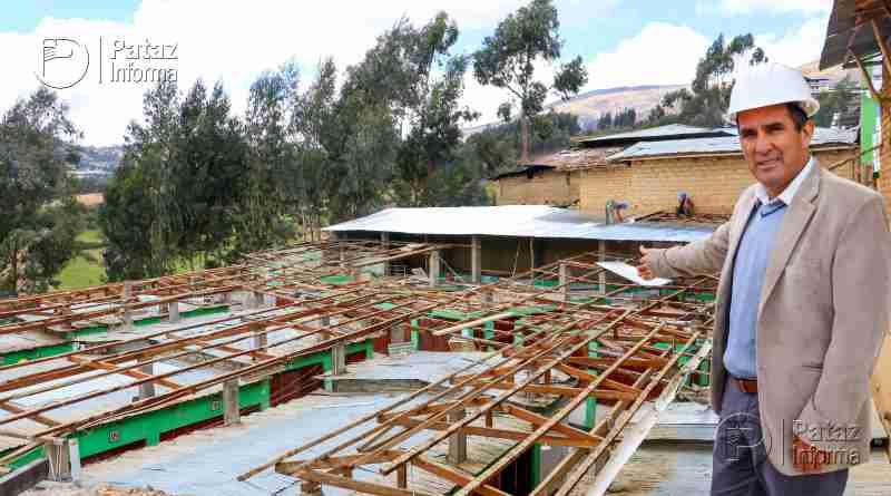 Continúan trabajos de mejoramiento de mercados en Tayabamba