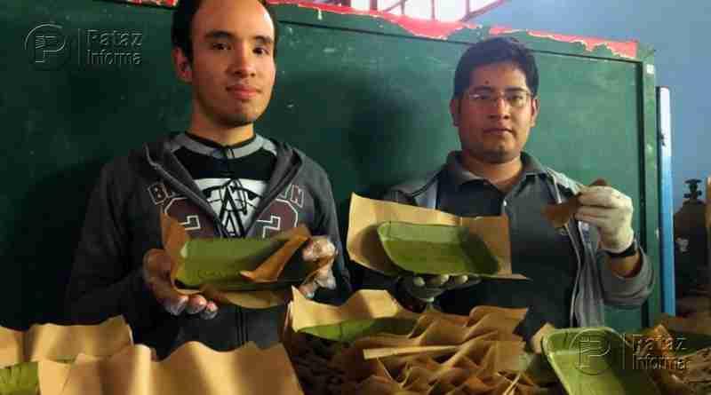 Crean platos biodegradables a base de las hojas de plátano
