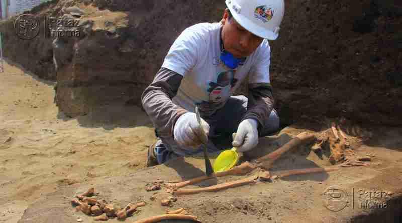 Hallan restos de niños y guerreros sacrificados en Huanchaco