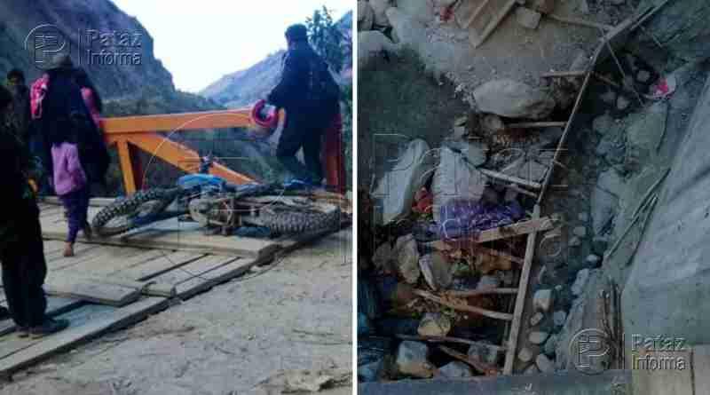Profesor sufre accidente con su moto en la provincia de Pataz