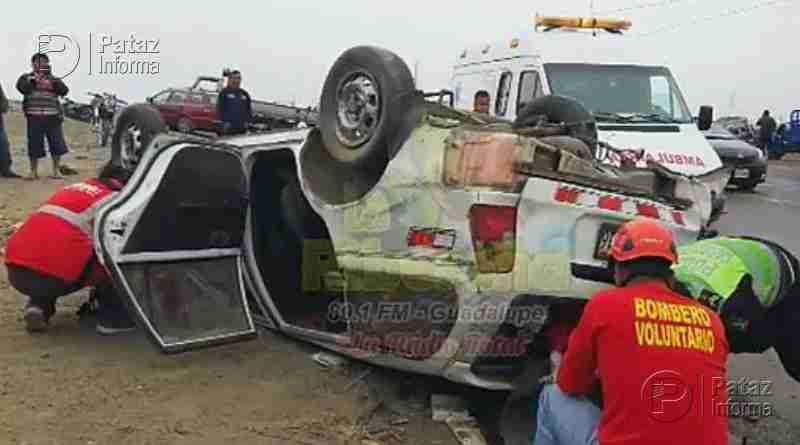 Lamentable. Choque deja 2 muertos en accidente de tránsito
