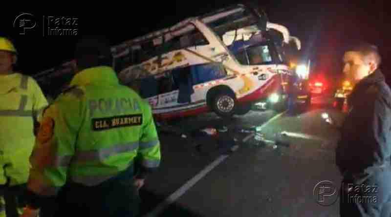 3 muertos y 16 heridos deja accidente en Panamericana Norte