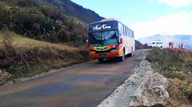 Inician asfaltado del tramo carretero Alto Challas – Huancaspata