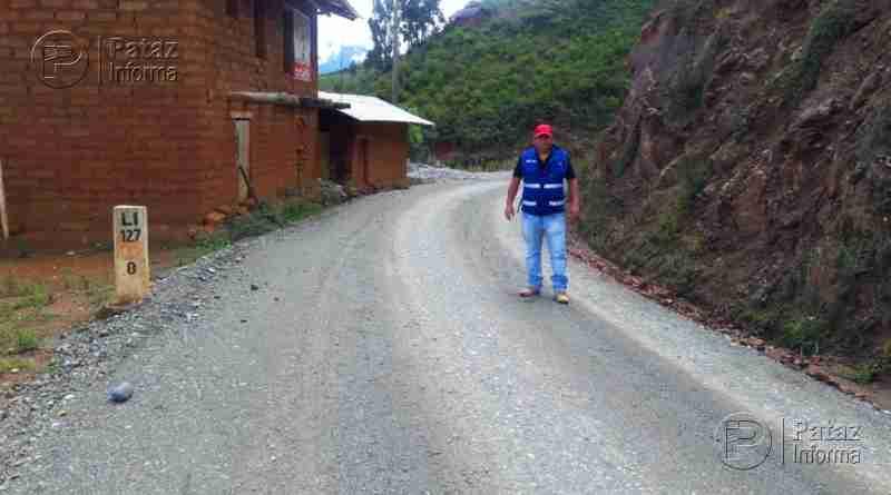 Reiniciarán mantenimiento periódico de carretera al Huayo