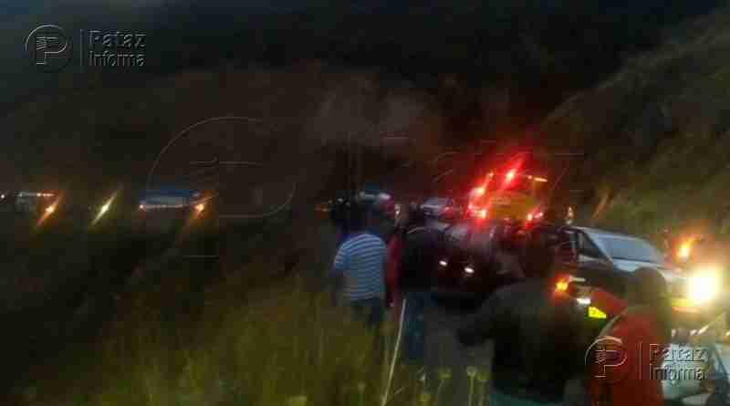 Accidentes en Pataz y Otuzco dejan un muerto y 8 heridos