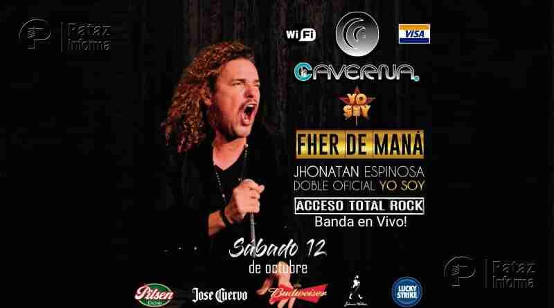 """Maná y su banda se presentará en """"La Caverna"""" de Retamas"""