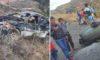 Trágico accidente deja un muerto y dos heridos en Huancaspata