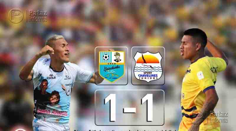 Copa Perú: Llacuabamba empató en su debut en la finalísima