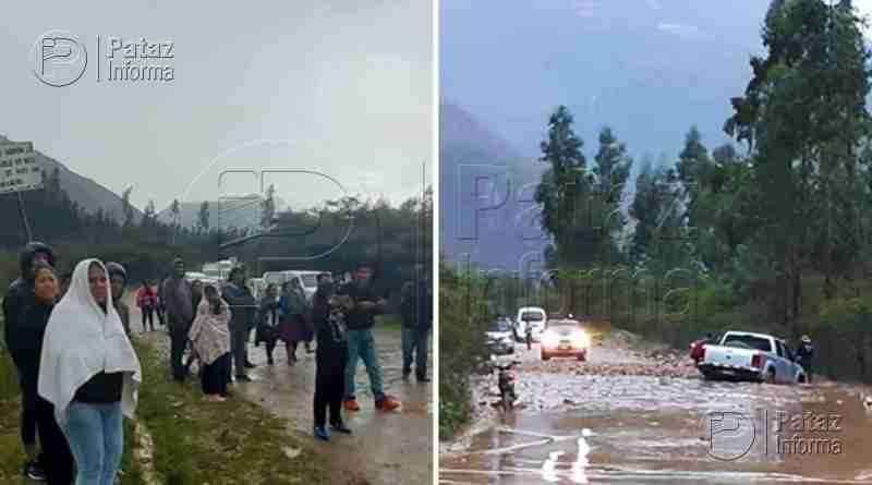 Pase interrumpido vía Huamachuco – Chagual – Retamas