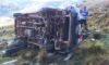 Combi cayó a un abismo dejando un muerto y varios heridos