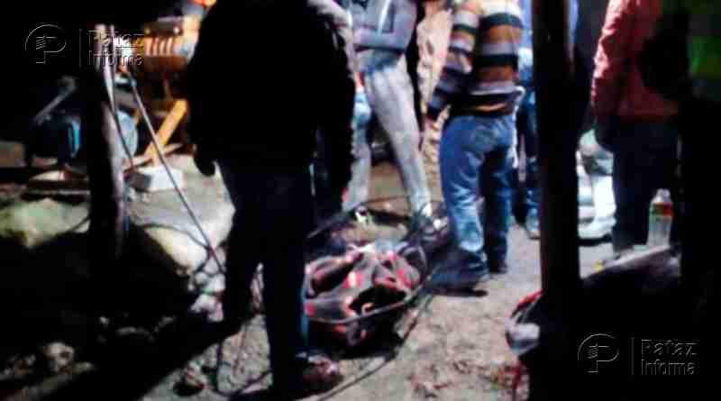 Tres personas mueren asfixiadas en mina informal en Quiruvilca