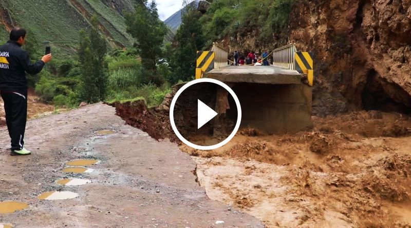 Pase interrumpido de Tayabamba a Trujillo por la ruta de Retamas