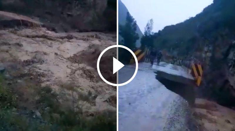 Pase interrumpido en carretera Tayabamba – Huaylillas – Retamas