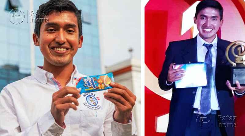 Creador de galletas contra la anemia ganó concurso de History Channel