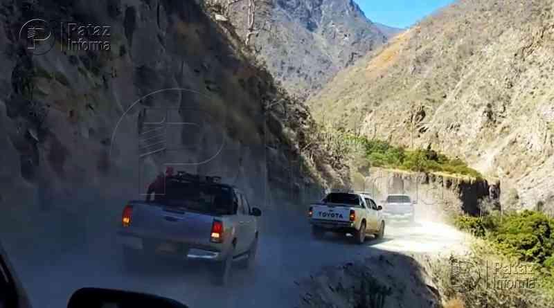 MTC ratificó compromiso de mejorar vía Puente Chagual – Tayabamba