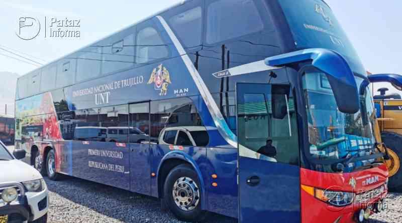 Coronavirus: buses de la UNT trasladarán a trabajadores de Salud